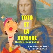 affiche TOTO ET LA JOCONDE